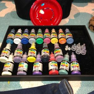 Scribbles 3D paint and organizer set